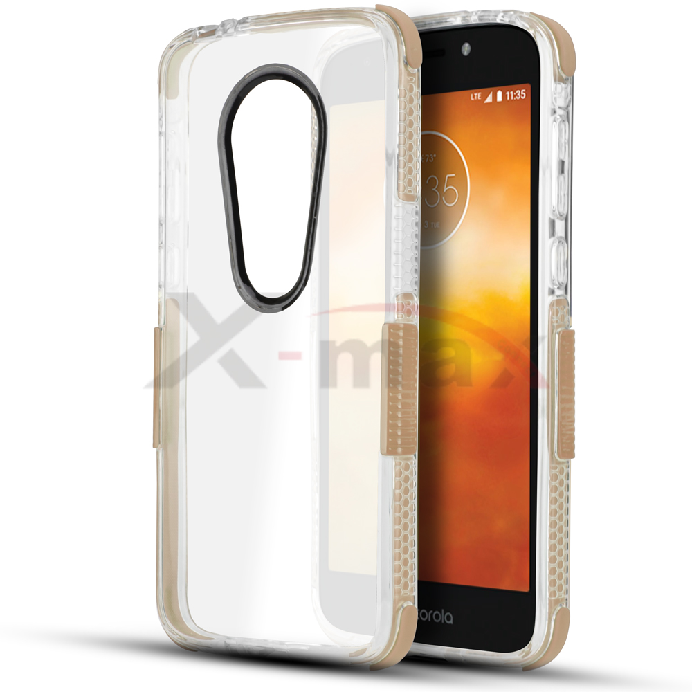 E5 PLUS - CLEAR BUMPER - GOLD
