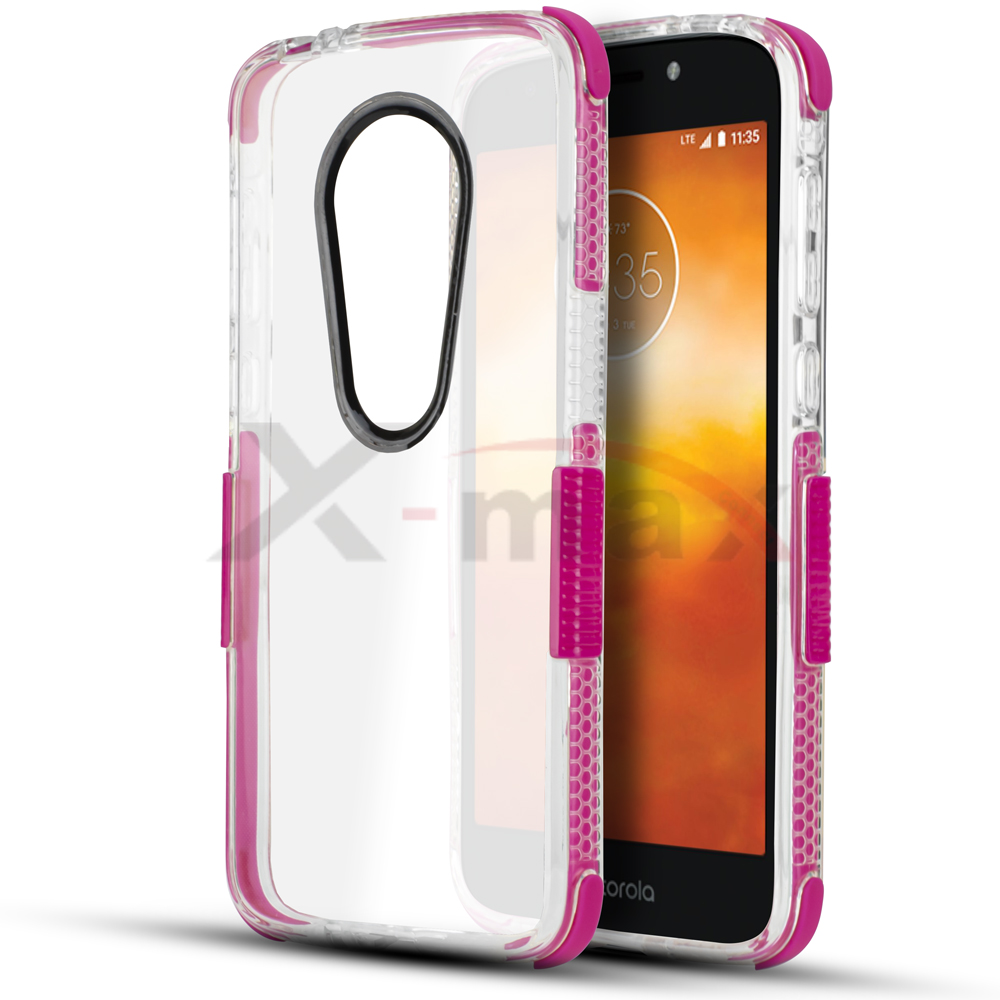 E5 PLUS - CLEAR BUMPER - PINK