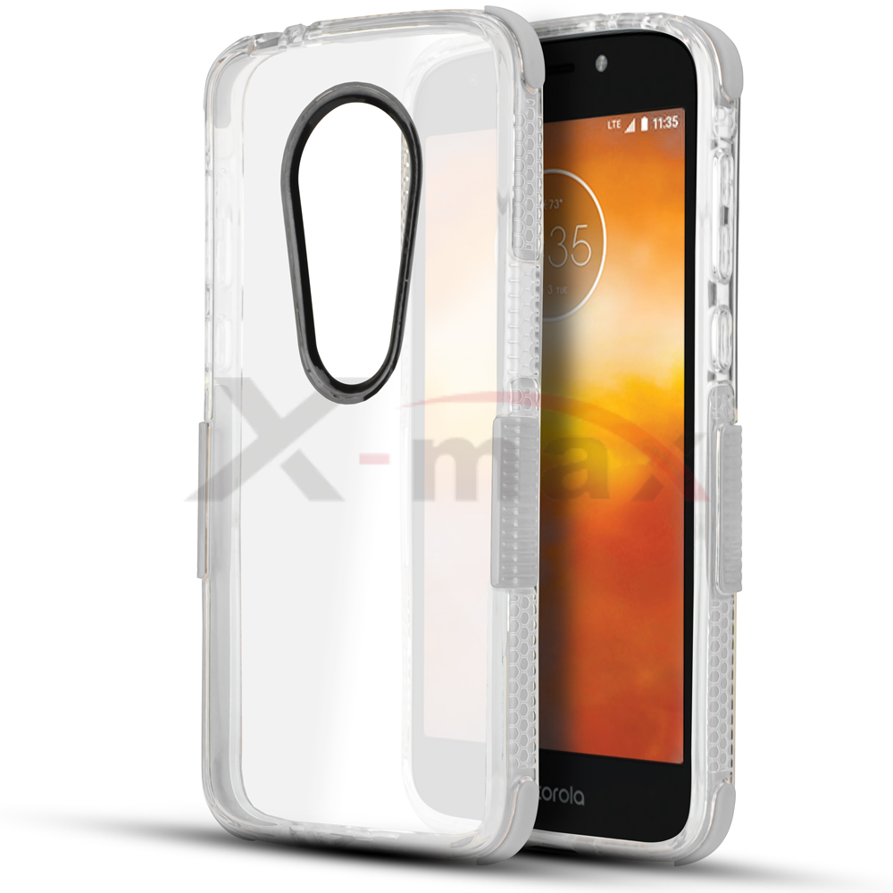 E5 PLUS - CLEAR BUMPER - WHITE