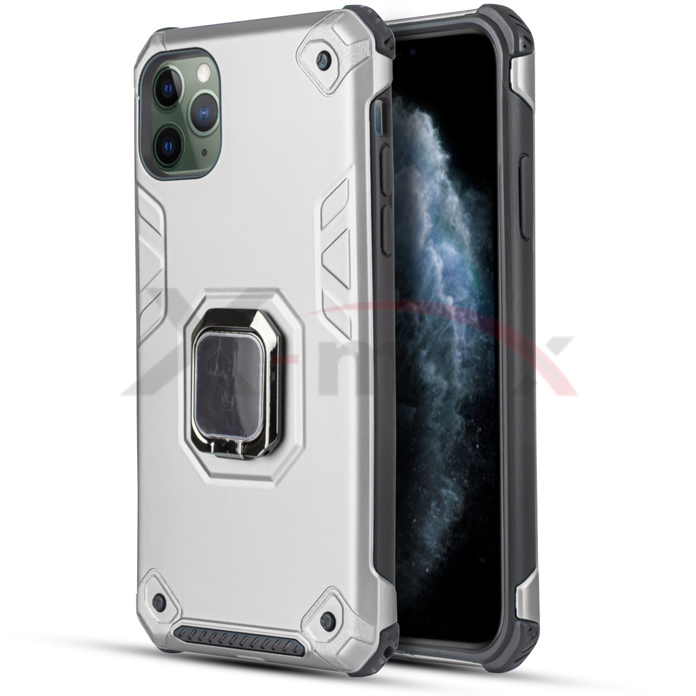 IPHONE 11 PRO MAX - ARMOR METAL STAND - SILVER
