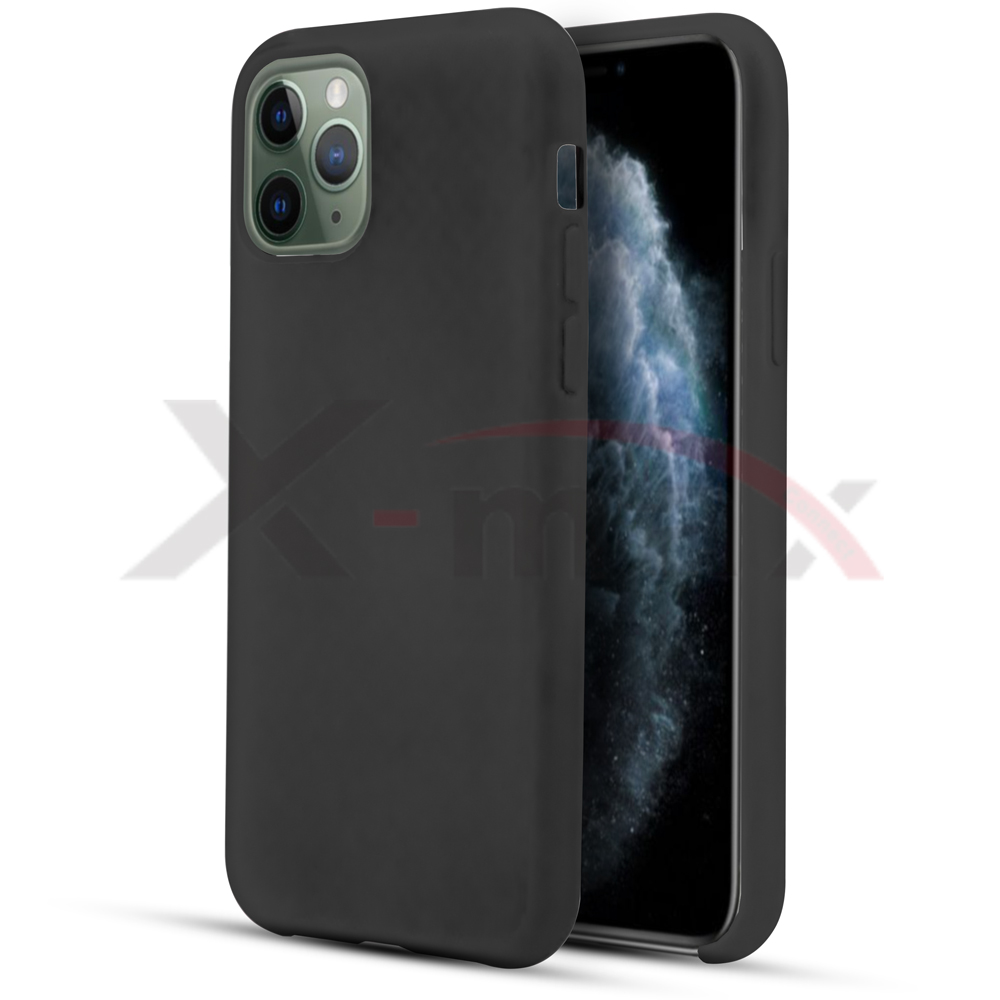 IPHONE 11 PRO MAX - RUBBER CASE - BLACK