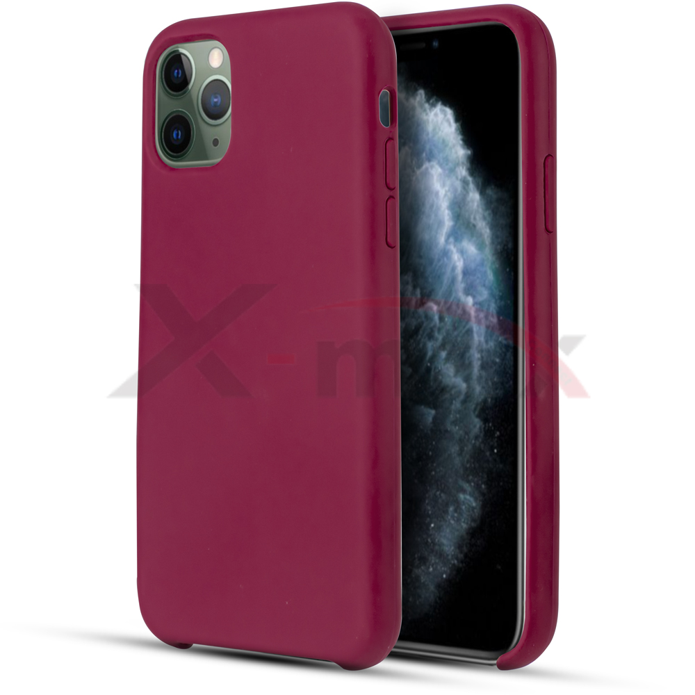IPHONE 11 PRO MAX - RUBBER CASE - DARK PURPLE