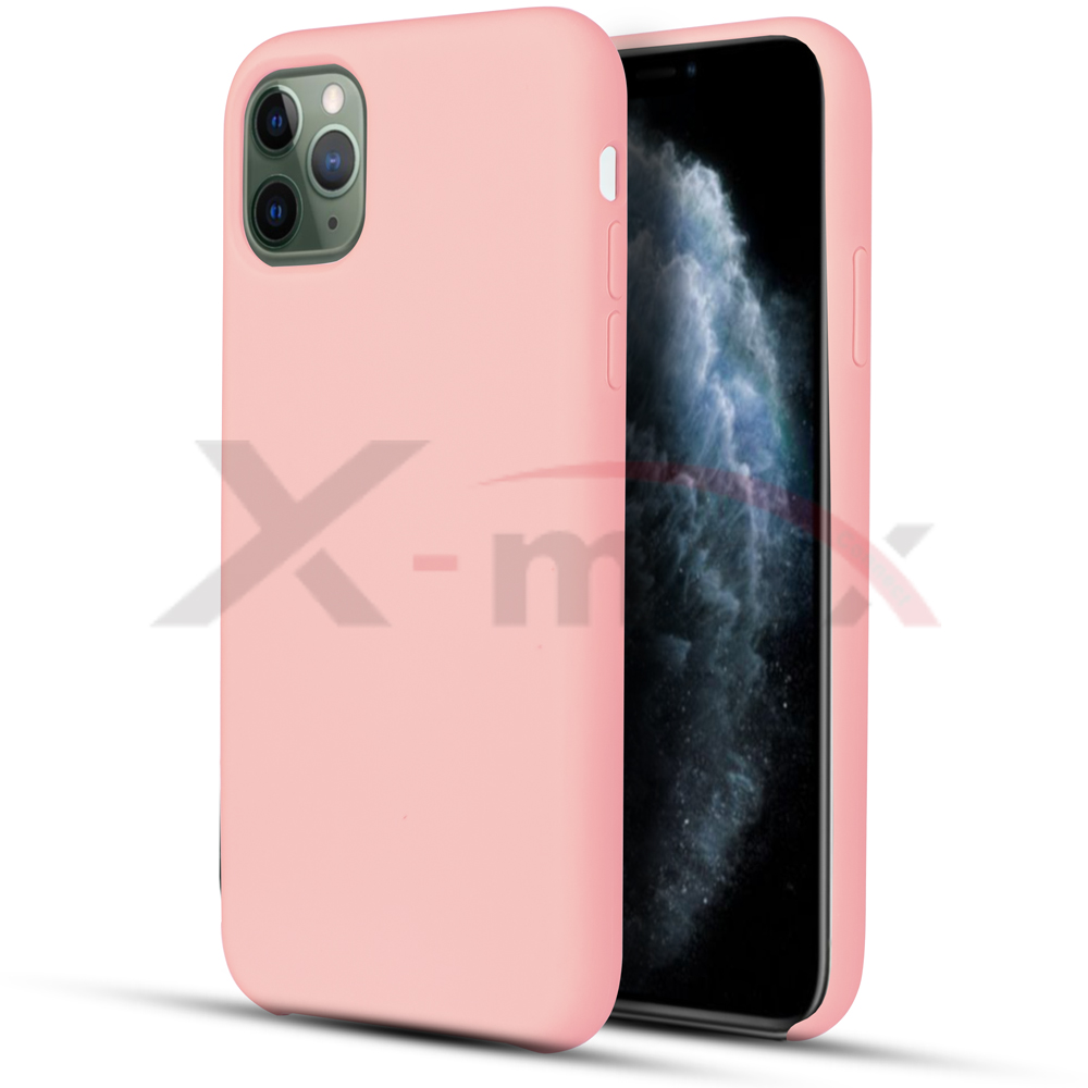 IPHONE 11 PRO MAX - RUBBER CASE - LIGHT PINK