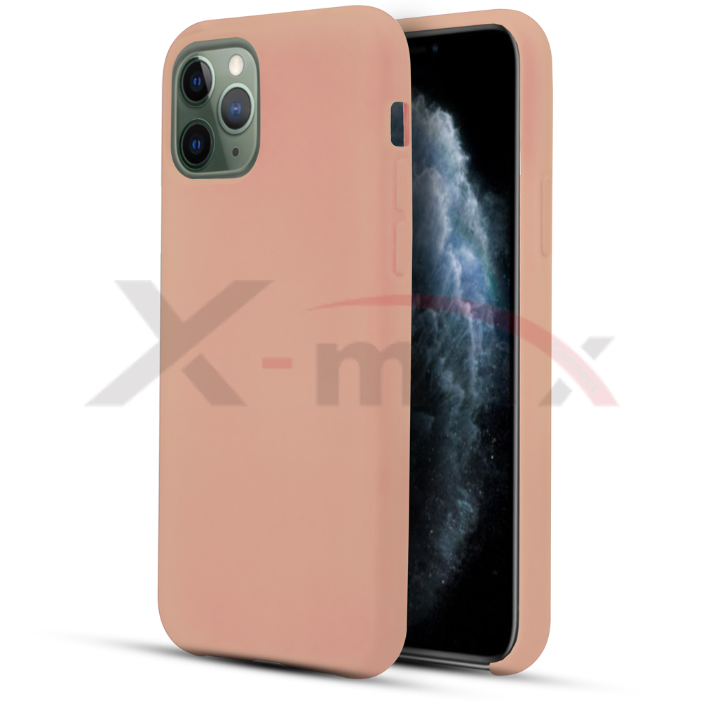IPHONE 11 PRO MAX - RUBBER CASE - ROSE GOLD