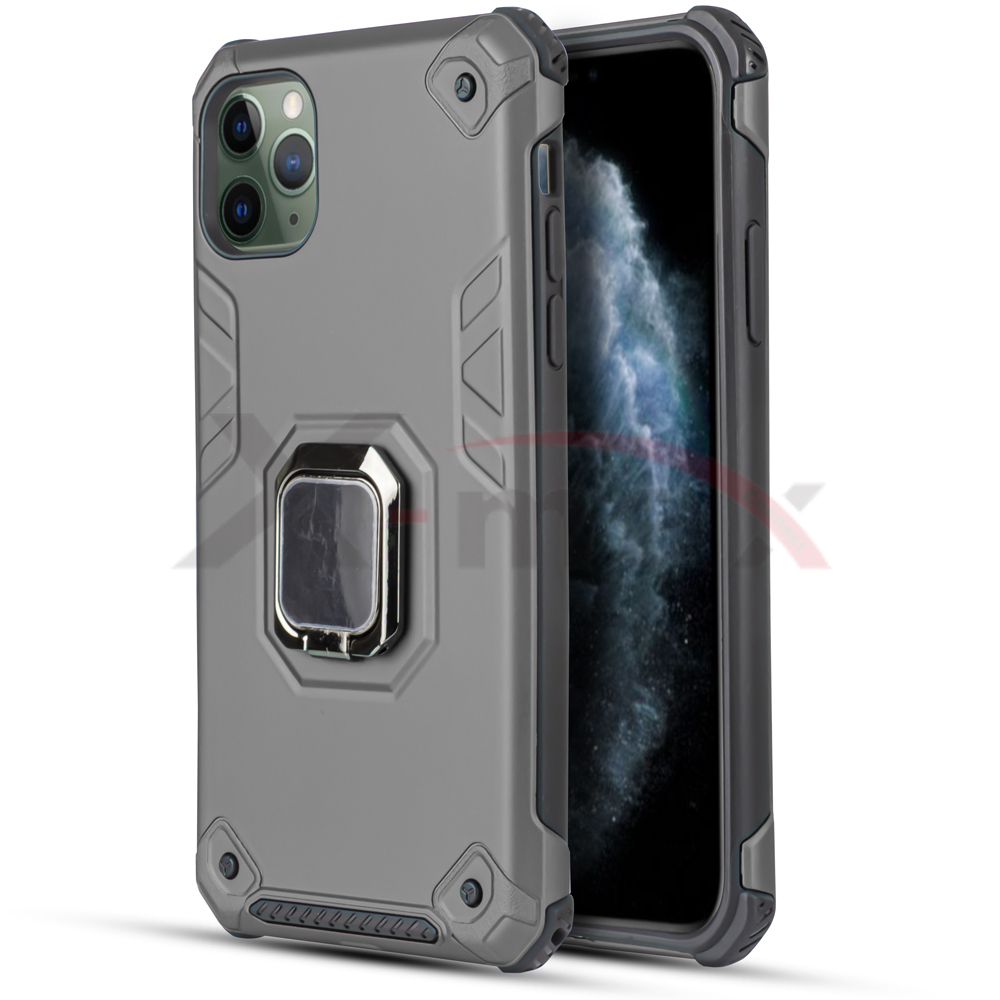 IPHONE 11 - ARMOR METAL STAND - GRAY