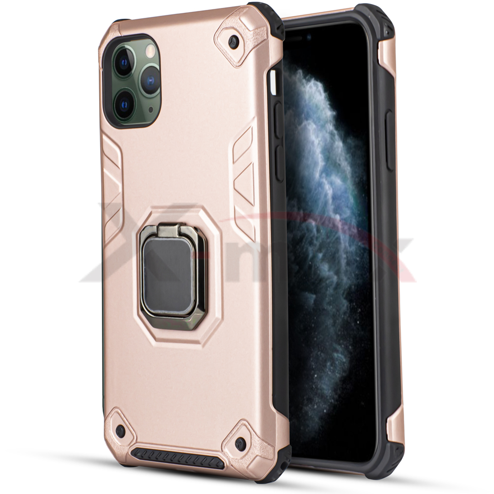 IPHONE 11 PRO - ARMOR METAL STAND - ROSE GOLD