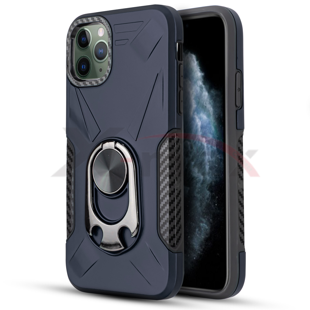 IPHONE 11 PRO - BOTTLE OPENER CASE - NAVY BLUE