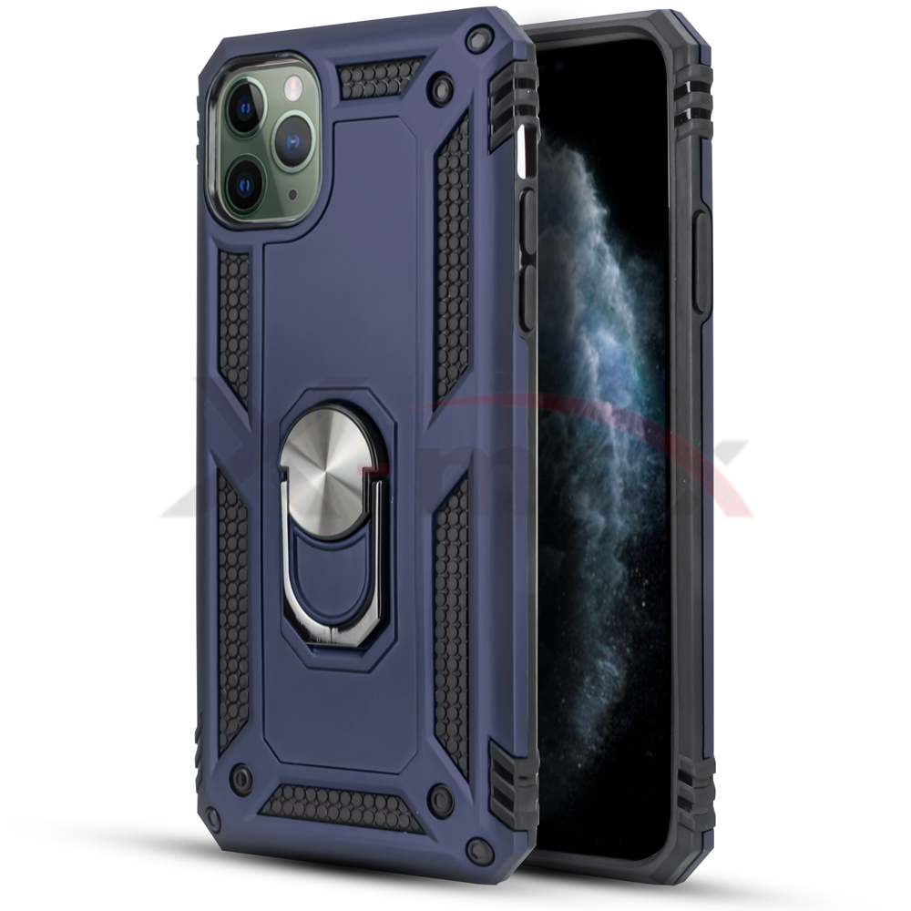 IPHONE 11 PRO - METAL STAND - NAVY BLUE