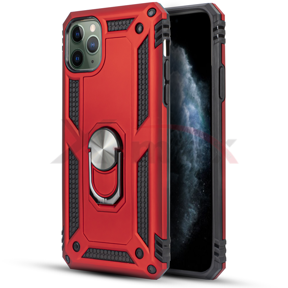 IPHONE 11 PRO - METAL STAND - RED