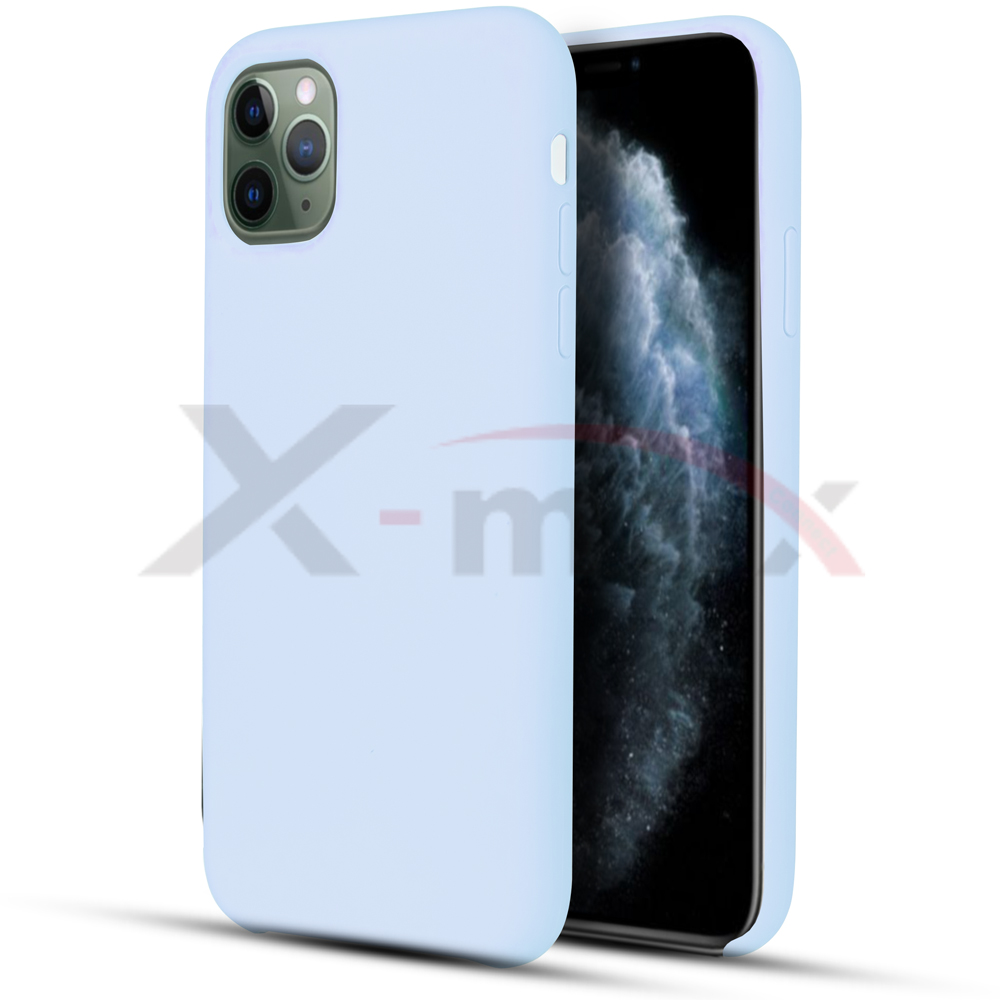 IPHONE 11 PRO - RUBBER CASE - LIGHT BLUE
