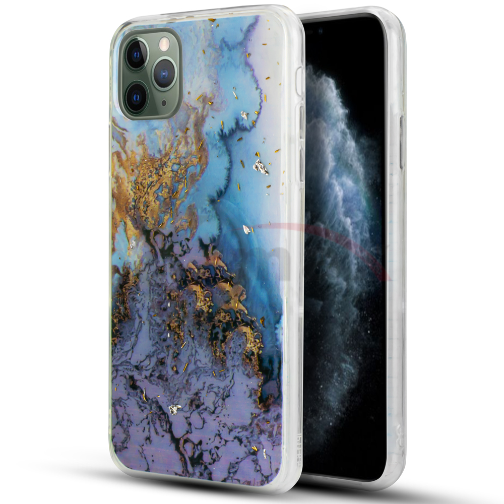 IPHONE 11 - MARBLE DESIGN - PURPLE