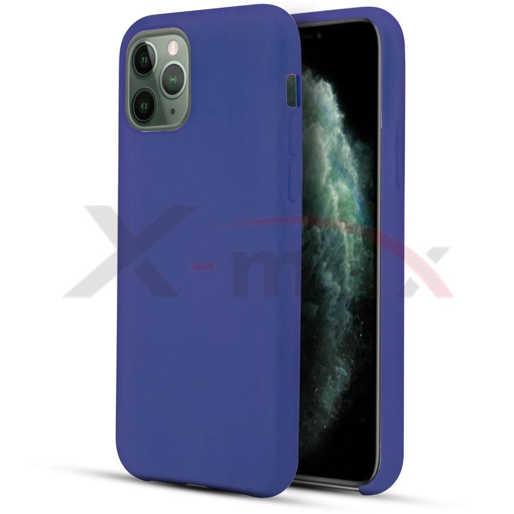 IPHONE 11 - RUBBER CASE - NAVY BLUE