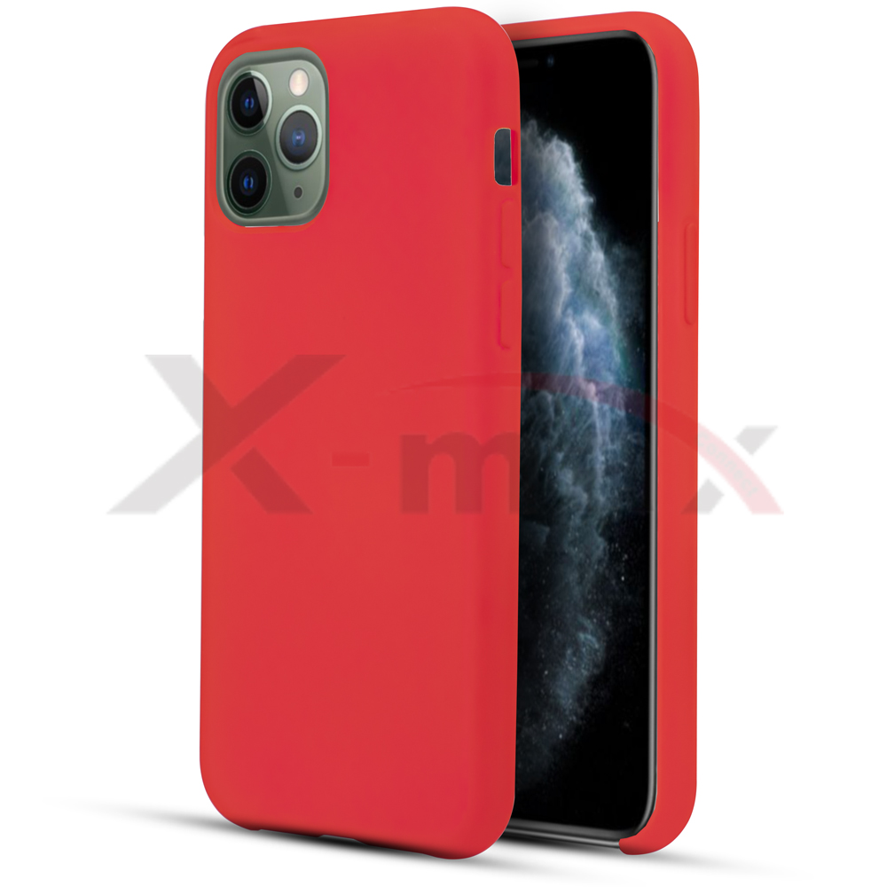 IPHONE 11 - RUBBER CASE - RED