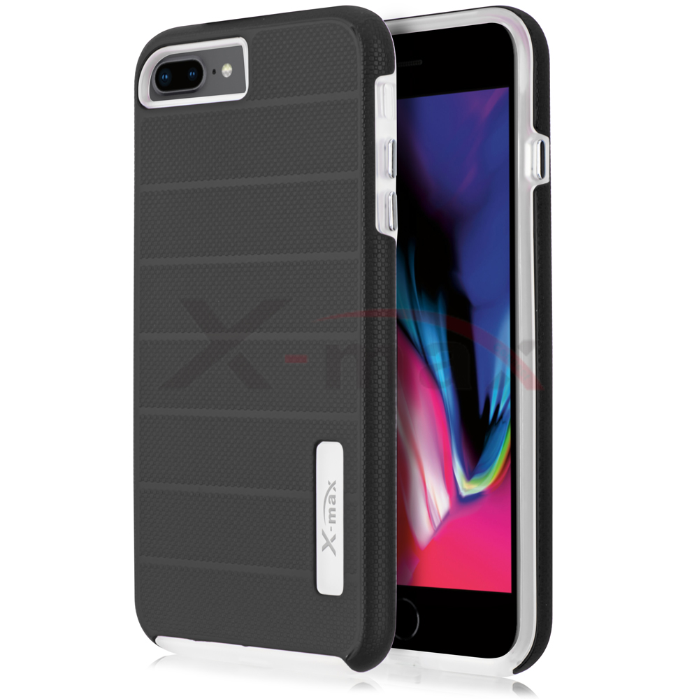 IPHONE 7/8 PLUS - FUSION PROTECTOR CASE - BLACK