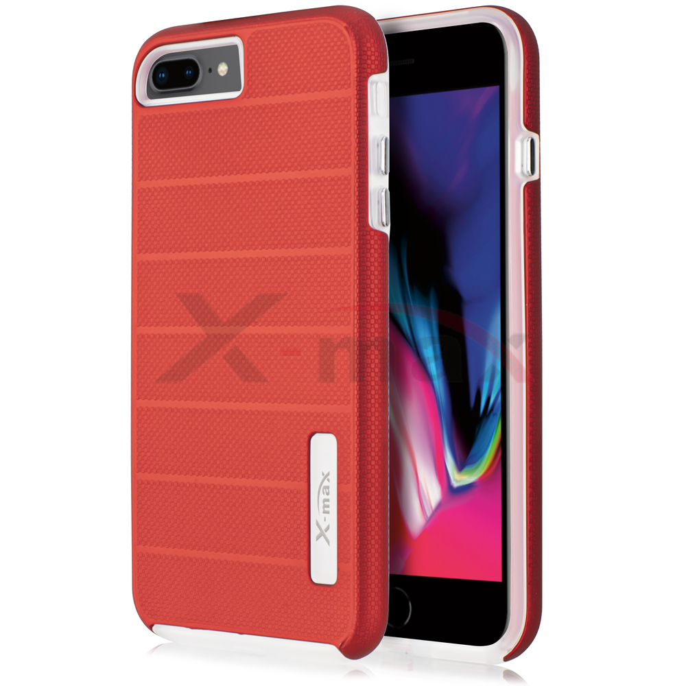 IPHONE 7/8 PLUS - FUSION PROTECTOR CASE - RED