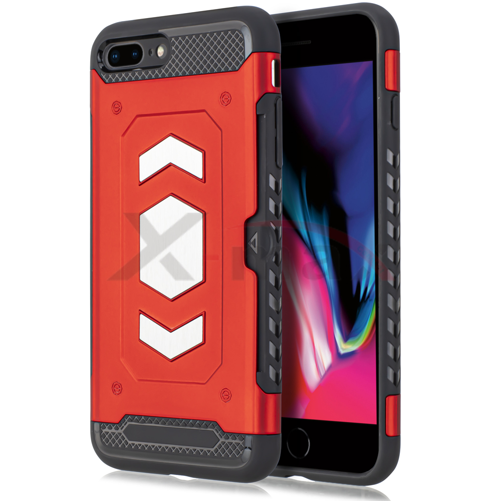 IPHONE 7/8 PLUS - SLIDE MAGNET - RED