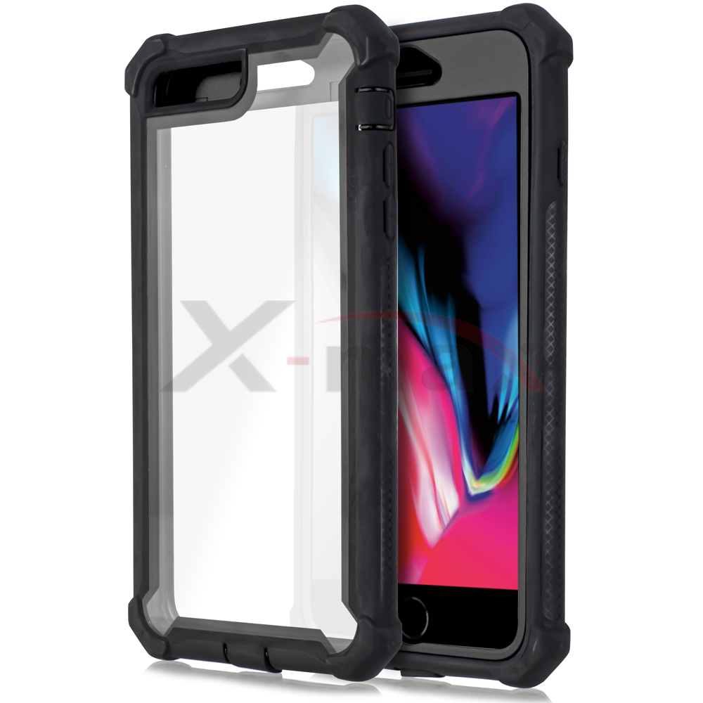 IPHONE 7/8 - CLEAR PROTECT - BLACK