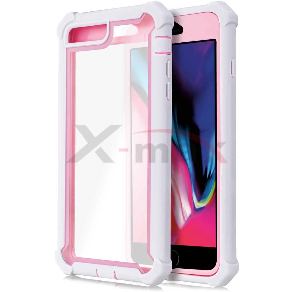 IPHONE 7/8 - CLEAR PROTECT - PINK