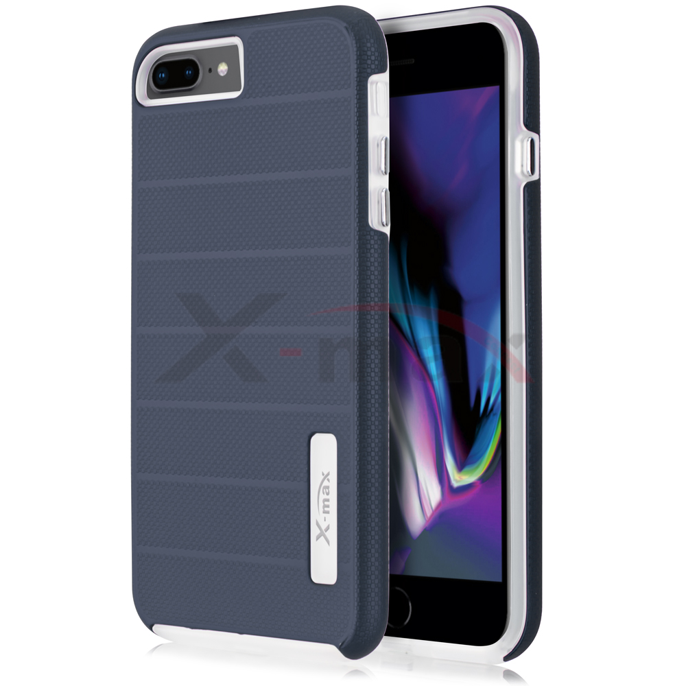 IPHONE 7/8 - FUSION PROTECTOR CASE - NAVY BLUE