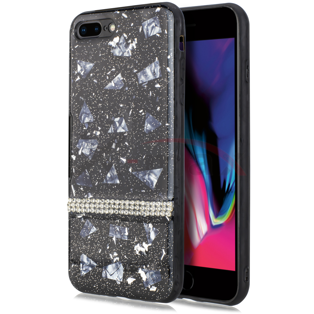 IPHONE 7/8 - GLITTER DIAMOND LINE
