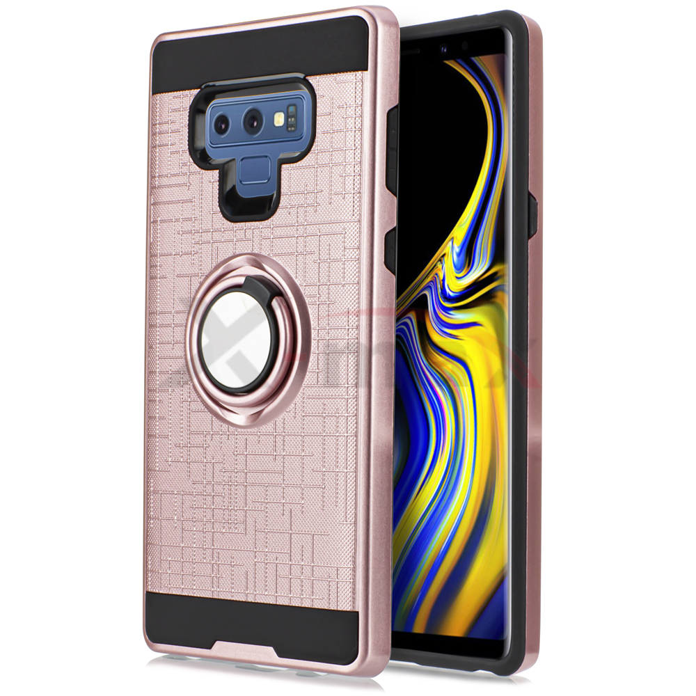 NOTE 9 - LINE RING - ROSE GOLD