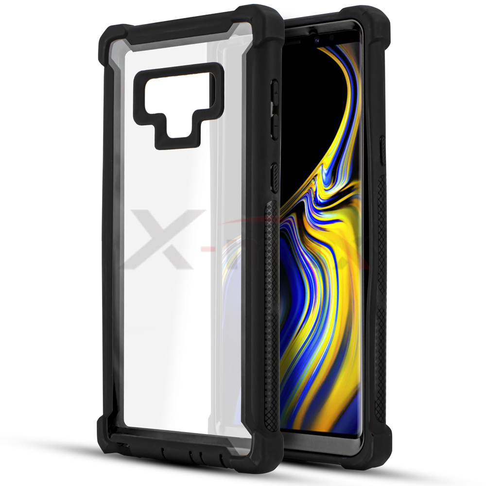 NOTE 9 - CLEAR PROTECTOR - BLACK