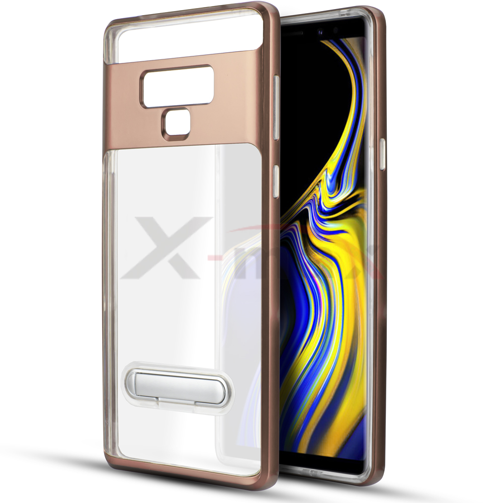 NOTE 9 - CLEAR TPU STAND - ROSE GOLD