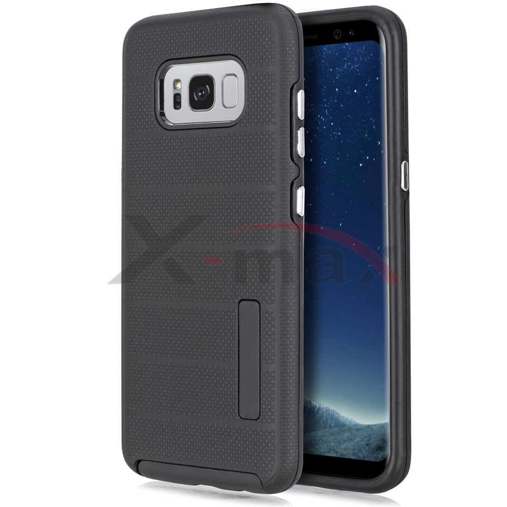 S8 PLUS - FUSION PROTECTOR CASE - BLACK