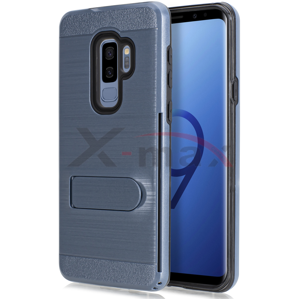 S9 PLUS - BRUSHED LINE STAND - NAVY BLUE