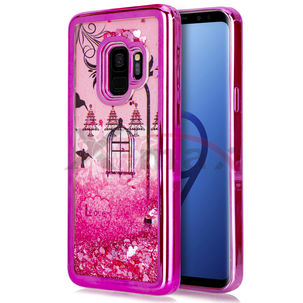 S9 PLUS - HUMMING BIRD - PINK