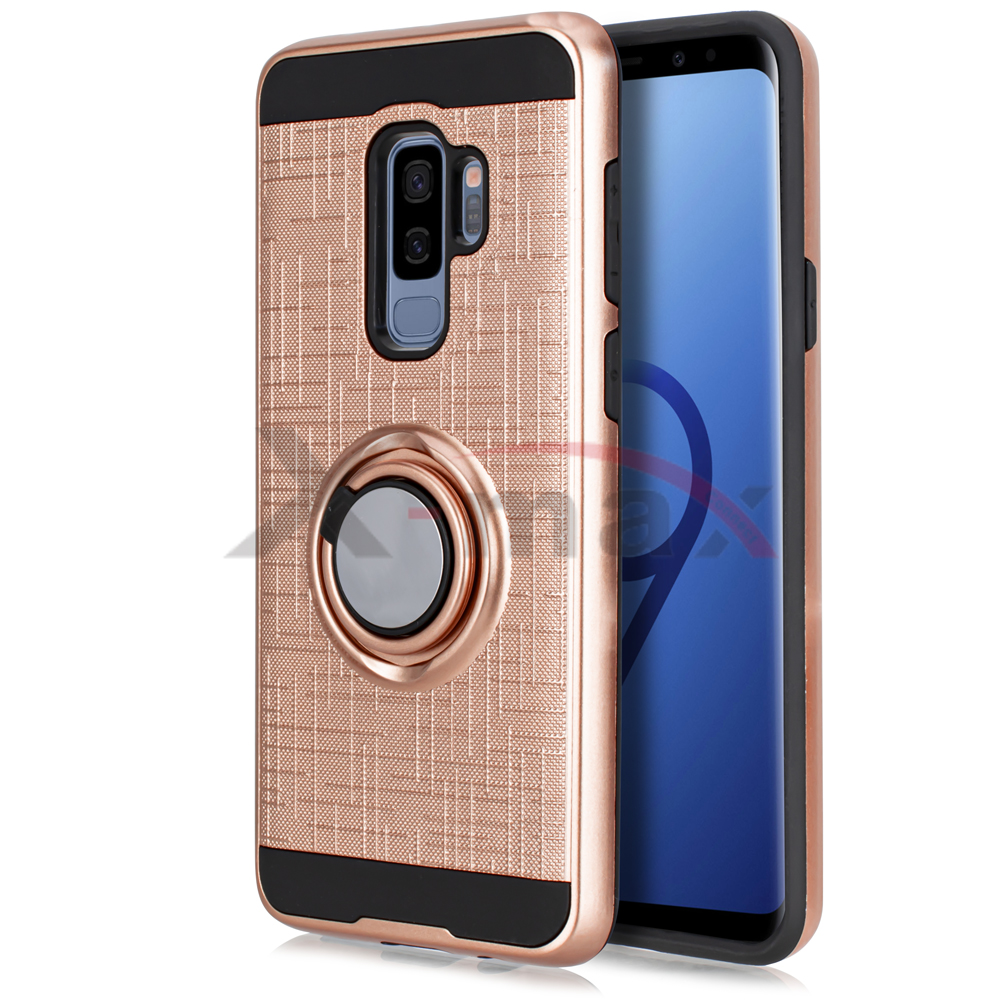 S9 PLUS - LINE RING - ROSE GOLD