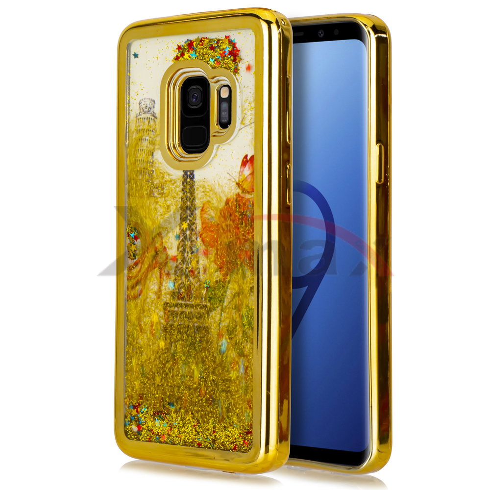 S9 PLUS - PARIS GLITTER - GOLD