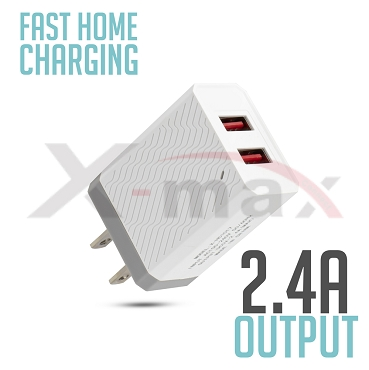 X-max  Home Charger  2 USB - HC1017