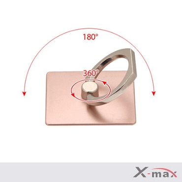 Ring Stand 360 angle - Metal Rosegold