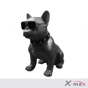 Dog Wireless Speaker - M10  BLACK  (Medium size)