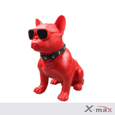 Dog Wireless Speaker - M11  RED   (Big Size)