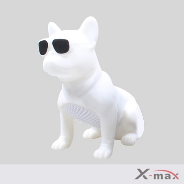 Dog Wireless Speaker - M12  WHITE  (Small size)