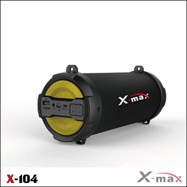 BLUETOOTH SPEAKERS X-MAX X-104 MAGNUM YELLOW