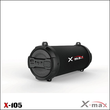 BLUETOOTH SPEAKERS X-MAX X-105 MAGNUM BLACK
