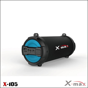 BLUETOOTH SPEAKERS X-MAX X-105 MAGNUM BLUE