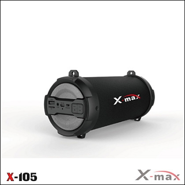 BLUETOOTH SPEAKERS X-MAX X-105 MAGNUM GRAY