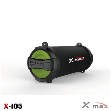 BLUETOOTH SPEAKERS X-MAX X-105 MAGNUM GREEN