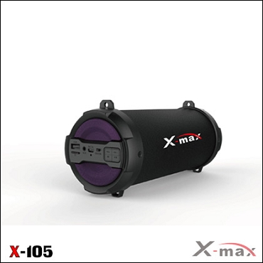 BLUETOOTH SPEAKERS X-MAX X-105 MAGNUM PURPLE