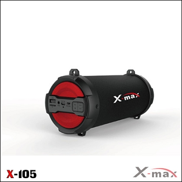 BLUETOOTH SPEAKERS X-MAX X-105 MAGNUM RED