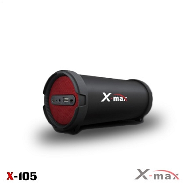 BLUETOOTH SPEAKERS X-105 X-MAX RED