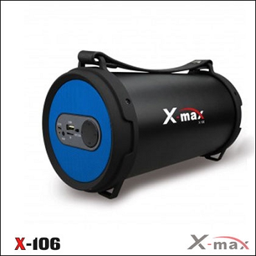 BLUETOOTH SPEAKERS X-106 X-MAX BLUE