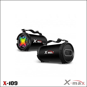 BLUETOOTH SPEAKERS SPEAKER X-109 X-MAX BLACK
