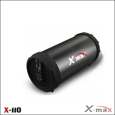 BLUETOOTH SPEAKERS X-110 X-MAX BLACK