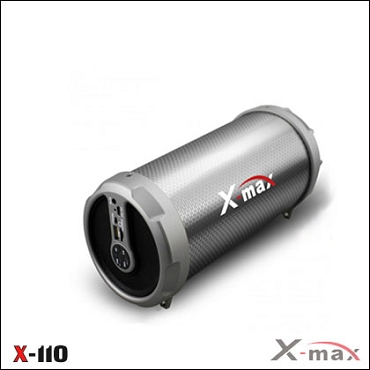 BLUETOOTH SPEAKERS X-110 X-MAX GRAY