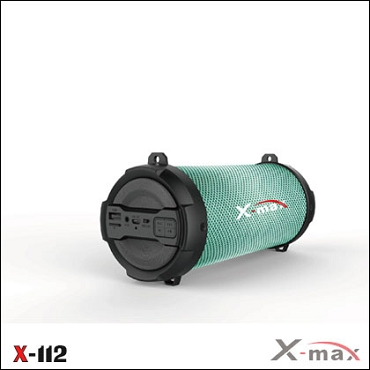 SPEAKER WIRELESS X-MAX X-112 MAGNUM LIGHT BLACK